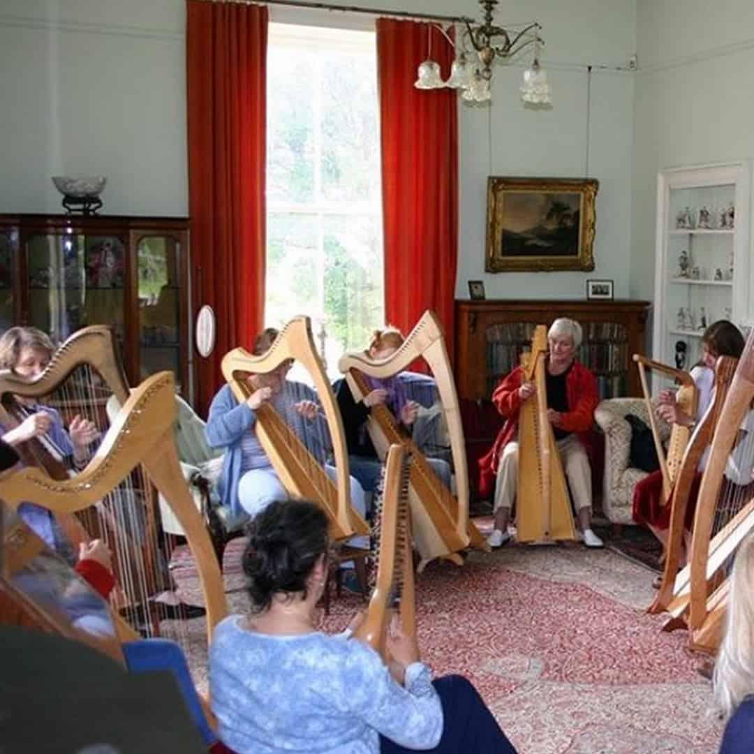 Alison Kinnaird MBE teaching at Blackhills Estate