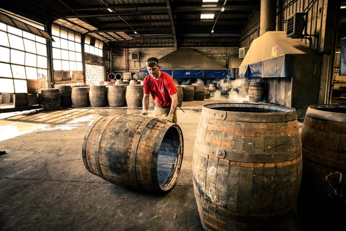 The Speyside Cooperage is the only cooperage in Britain with a visitor centre.