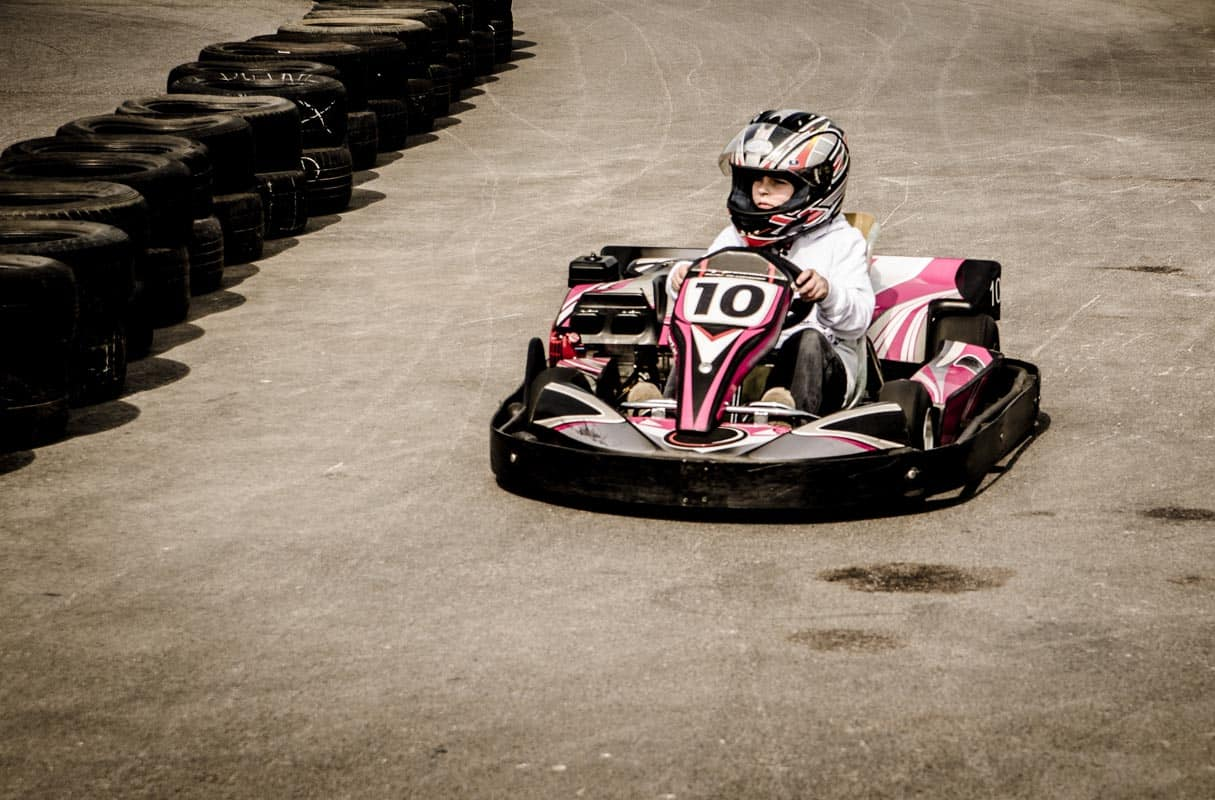 Go-Kart racing is great fun for all the family.